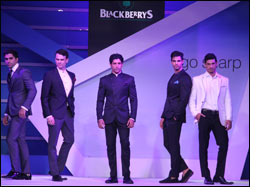 Blackberrys unveils Sharp Nights at fashion extravaganza